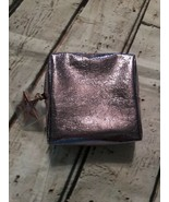 MAC Purple Foil Rose Gold Star Makeup Cosmetic Bag Pouch New Without Tag... - $12.19