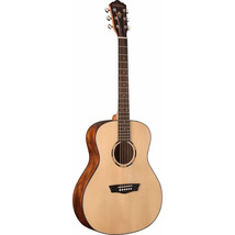 Washburn WLO10S Woodline Series Orchestra Solid Spruce Natural Acoustic ... - $296.01