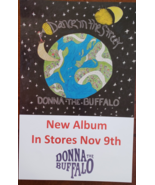 """Donna The Buffalo """"Dance in the Street"""" 11 x 17 record music promo poster - $8.95"""