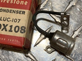 NOS Firestone 1953-55 MG 1953-60 English Ford 58-61 Hillman ignition con... - $4.95