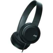 JVC HAS190MB Colorful On-Ear Headphones (Black) - $35.33