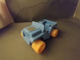 AVON Wild Country Made in Sweden Plastic Toy Jeep Car BLUE/YELLOW Plastic  - $5.00