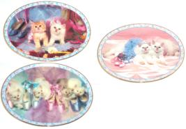 Prima Ballerinas Kitten Collector Plate Danbury Mint David Belda Cats Kitty - $59.95