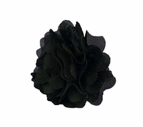 4 Pieces Of Special Handmade Jewelry Adjustable Black Flower Ring