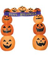 Airblown Archway Pumpkins Banner Inflatable Yard Decor Prop Halloween Gemmy - $109.90