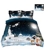 3D Weihnachten  Xma 201 Bett Kissenbezüge steppen Duvet Decken Set Singl... - $83.85+