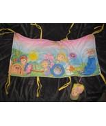 Jammie Pies Crib Rail Wrapper 1986 Playskool Spunkle Ditty Pittipin Midd... - $138.59