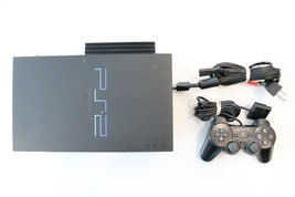 Sony Playstation 2 SCPH-50001/N Console w/ Network Adapter - Will Not Re... - $14.99