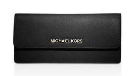 Michael Kors schlanke, flache Portemonnaie Saffiano-Leder Jet Set - $106.91