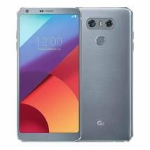 "LG G6 - 32GB   4G LTE (GSM UNLOCKED) 5.7"" Smartphone LG-H873   Ice Platinum"