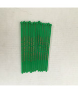 vintage 13 green Fremont hotel casino swizzle sticks plastic drink stirs - $19.75