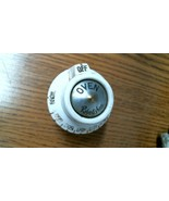 #1956 RTZ-34115 Robertshaw Oven Range Gas Thermostat Knob White-- FREE S... - $38.86