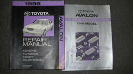 1996 toyota avalon service repair workshop manual oem set w wiring diagram - $49.44