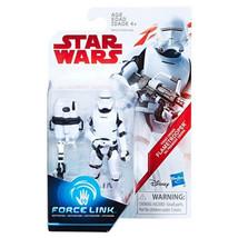 Star Wars Last Jedi First Order Flametrooper Force Link Action Figure Ex... - $9.20