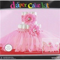 Pink Tutu Diaper Cake Decoration - $30.81