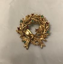 Vintage  Antique Pin Gold Tone - $5.94