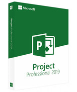 Microsoft Project Professional 2019 Genuine License Key - $28.00