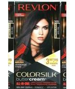 1 Revlon 28DV Violet Black Vivid Hair Color Ammonia Free Colorsilk Butte... - $15.99