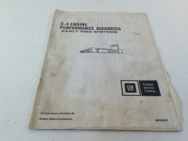 1980 GM C-4 Engine Performance Diagnosis Early 1980 Systems 16016.03-2 - $14.99