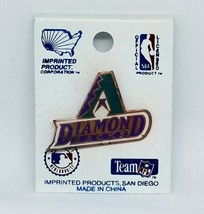 Arizona Diamondbacks MLB 1990s Enamel Hat Pin NOS Inaugural Imprinted Products  - $19.68