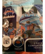 """Space Jam A New Legacy 2 Piece Comforter set twin/Full, (72"""" X 86"""") Sham... - $57.23"""