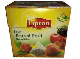 Lipton Schwarztee Forest Fruit Tea 20 Pyramiden Teebeutel - $23.95