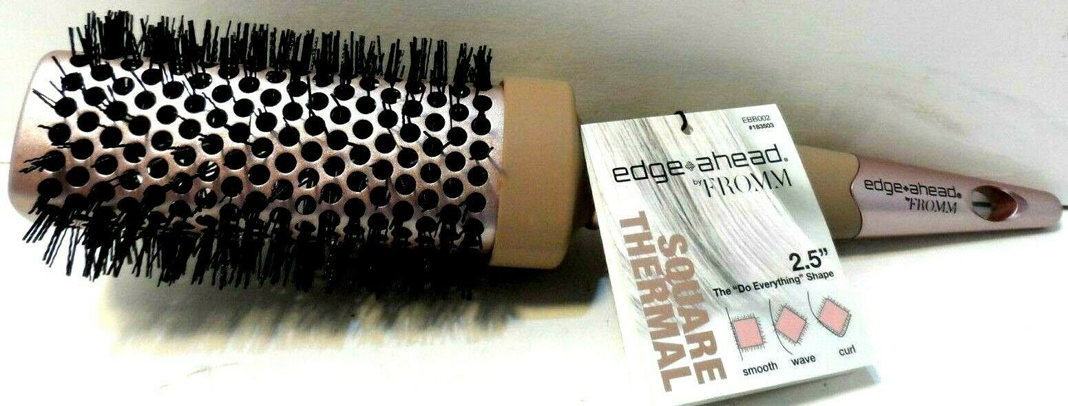 "Primary image for edge*ahead by Fromm Square Thermal 2.5"" Bristle  Bar Blowout Brush New!"