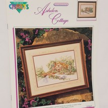 Ashdon Cottage Country Cross Stitch Leaflet Book Color Charts 1990 Tree ... - $19.99