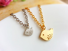 Mama and Baby Bird Necklaces Set Mom and Baby Bird Necklace New Mom Gift - $22.00+