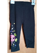 Faded Glory Baby Clothes 12M Infant Girl Bottoms Pants Sparkle Design Le... - $9.49