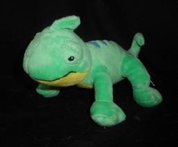 Carter's Baby Green Yellow Iguana Lizard Reptile Stuffed Animal Plush Toy 67072 - $34.65