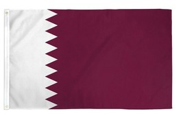 3x5 Qatar Flag 3'x5' Banner Brass Grommets Premium Polyester Fade Resistant - $8.88
