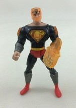 "Animated Superman Deluxe Vision Blast 5"" Action Figure 1996 Vintage DC Comics - $9.85"