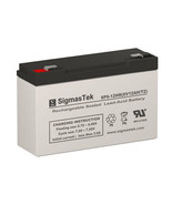 6V 12AH F2 Battery Replacement for Mighty Max ML12-6 by SigmasTek - $23.75