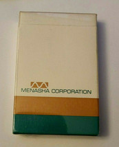 Vintage Deck of Menasha Corporation Wisconsin Advertising Playing Cards image 2