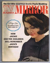 VINTAGE June 1964 TV Radio Mirror Magazine Jackie Kennedy JFK - $24.74
