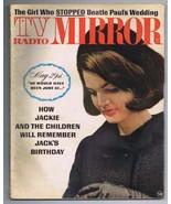 VINTAGE June 1964 TV Radio Mirror Magazine Jackie Kennedy JFK - $24.74