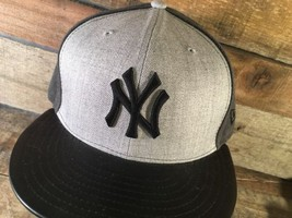 New York YANKEES Black Grey New Era Snapback NEW Hat Cap - $22.76