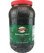 Black Moroccan Olives Oil Cured 1 Gallon - $25.73