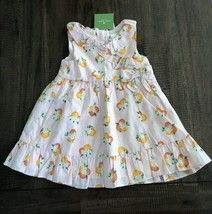 Kate Spade Girls Size 18 M Orangerie Dress Orange Peach NWT - $44.52