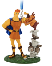 Disney Parks Hercules with Phil Christmas Ornament New With Tag - $25.86