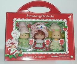Retro Strawberry Shortcake Lemon Meringue Lime Chiffon Set Toys R Us Exc... - $99.00