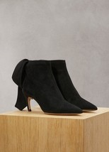 01bcc66ea38 Christian Dior Womens Black Suede La Belle D Ankle Boots IT37.5 US7.
