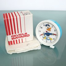 BAYARD Donald DUCK French Vintage Alarm Clock  Wind Up Clock Disney 1972... - $249.00
