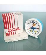 BAYARD Donald DUCK French Vintage Alarm Clock  Wind Up Clock Disney 1972... - $249.00