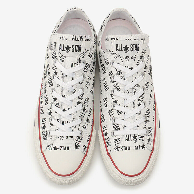 CONVERSE ALL STAR 100 MANYNAME OX White Chuck Taylor Japan Exclusive image 4