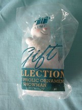 AVON 1996 Winter Frolic Ornament - Snowman - NIP - $9.99