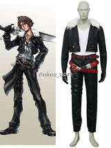 Final Fantasy VIII Squall Leonhart Cosplay Costume Halloween cos3433 - $126.99