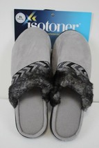 ISOTONER Womens Black Memory Foam House Shoes Slippers size XL 9.5-10 New - $18.80