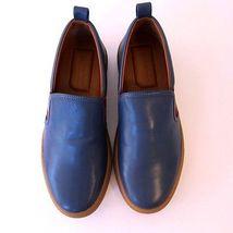 da NUOVO in pelle HERALD j US BALLY 1844119 TAGLIA jeans 7 infilare SNEAKERS blu 5xfwq8Yw